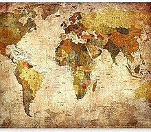 Fototapete Weltkarte 3D Wandbilder Für Fernseher