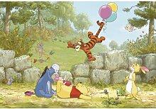 Fototapete Winnie the Pooh Ballooning, 2,54 m x