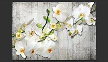 Fototapete With saffron accent 210 cm x 300 cm