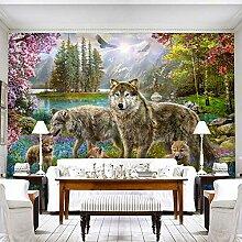 Fototapete Xanadu Wolf 3D Wandbilder Für