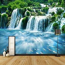 Fototapete ZZZXX Moderne Wasserfallnaturlandschaft