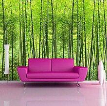 Fototapeten 3D Bambuswald Vlies Wandbilder Tapete