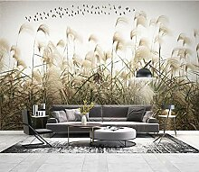 Fototapeten 3D effekt Gras pflanzen Vliestapete