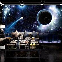 Fototapeten 3D Galaxy Moderne Vlies Wand Tapete