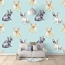Fototapeten 3D Hund, Tier Moderne Vlies Wand