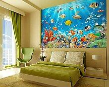 Fototapeten 3D Ozeanwelt Moderne Vlies Wand Tapete