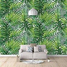 Fototapeten 3D Palmblatt Moderne Vlies Wand Tapete