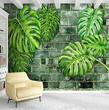 Fototapeten 3D Tropische Pflanze Vlies Wandbilder