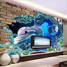Fototapeten 3D Unterwasserwelt Moderne Vlies Wand