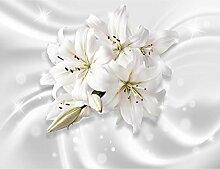 Fototapeten Blumen Lilien 352 x 250 cm - Vlies
