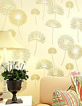 fototapeten Blumen Tapete Zeitgenössisch Wandverkleidung , Nicht-gewebtes Papier 0.55mm , light pink