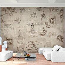Fototapeten Collage Leonardo DaVinci 352 x 250 cm