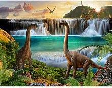 Fototapeten Dinosaurier 352 x 250 cm Vlies Wand