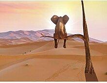 Fototapeten Elefant 352 x 250 cm Vlies Wand Tapete