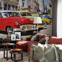 Fototapeten - Fototapete Cuba Cars