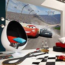 Fototapeten - Fototapete Disney Cars 3 Duell