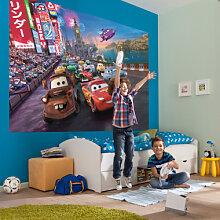 Fototapeten - Fototapete Disney Cars Race