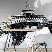 Fototapeten - Fototapete Eiffelturm Perspektive