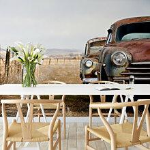 Fototapeten - Fototapete Old Rusted Cars