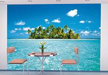 Fototapeten - Fototapete Papiertapete Malediven Traum