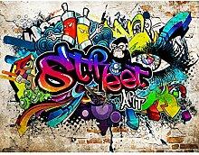 Fototapeten Graffiti Streetart 352 x 250 cm Vlies