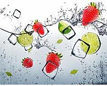 Fototapeten Küche Obst 352 x 250 cm - Vlies Wand