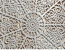 Fototapeten Mandala 352 x 250 cm Vlies Wand Tapete