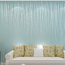 fototapeten moderne Tapeten Streifen 0.53M * 10m Wandverkleidung Vliespapier Wandkunst , light yellow
