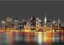 Fototapeten New York Night City 352 x 250 cm -
