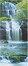 Fototapeten - Türtapete Pura Kaunui Falls