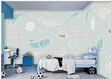 Fototapeten Wand Tapete SchlafzimmerHandgemalte