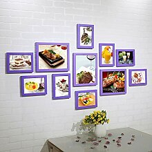 Fotowand Display, Galerie Collage Frame Wand, Holz
