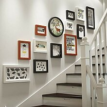 Fotowanddekoration Fotorahmen mit Collage, Wand