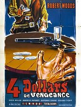 Four Dollars For Vengeance Poster 01 Metal Sign A4 12x8 Aluminium