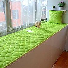 Four seasons dicke non-slip fenster matte plüsch sponge fenster mat tatami kissen balkon mat schlafzimmer teppich-E 60x60cm(24x24inch)