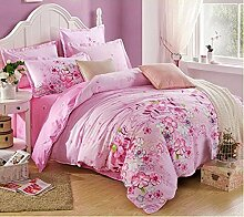 Four sets of cotton, four sets of simple bedding