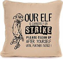 fourleafcloverprint Potter Dobby, Elfen on Strike,