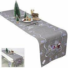 Fovely Weihnachten Tischläufer Tischdecke