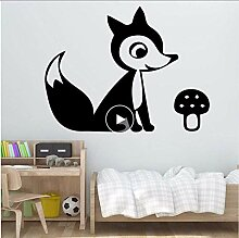 Fox Animal Wandkunst Aufkleber Wandaufkleber