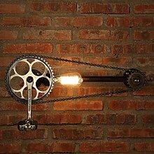 FPF Wandleuchten Retro Wasserleitung Gang der industriellen Eisen Wandleuchte Gang Cafe Bar Art Wandleuchte Möbel Wandleuchte