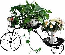 FPigSHS Blumenständer Eisen Kunst Balkon