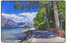FQWEDY Badematte,Szenische von Lago Di Garda