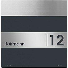 Frabox Design Briefkasten NAMUR mit Hausnummer &