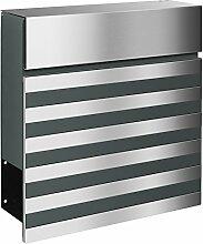 frabox Design Briefkasten Nove Stahl