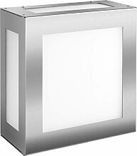 Frabox® Edelstahl LED Aussenleuchte VAR mit