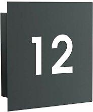 Frabox® LED-Design Hausnummer Hausnummernleuchte