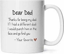 Fragen Sie mich nach meinem Vater Witze Mug -