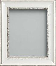 Frame Company Bilderrahmen, Antik-Weiß, 12x8