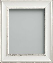 Frame Company Bilderrahmen, Antik-Weiß, 16x12