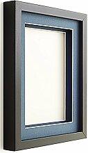 Frame Company Rahmen mit Passepartout, Schwarz,